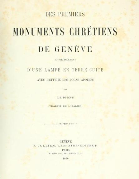 de rossi 1870